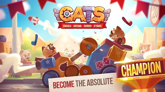 CATS: Crash Arena Turbo Stars Mod 2.31 Apk [Unlimited Money/Lives] 6