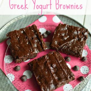 Greek Yogurt Brownies.