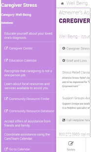 Alzheimer's Caregiver Buddy- screenshot thumbnail