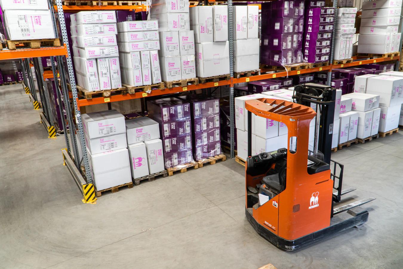 dropship inventory management at a warehouse