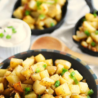 Delicious Garlic Home Fries