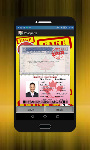 Download id card generator fake Google Play softwares