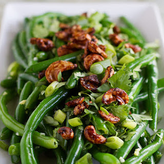 Fresh Green Bean Salad with Asian Dressing