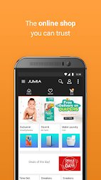 JUMIA Online Shopping APK screenshot thumbnail 1