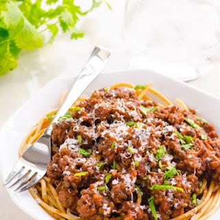 Clean Eating Half Meatless Marinara Sauce