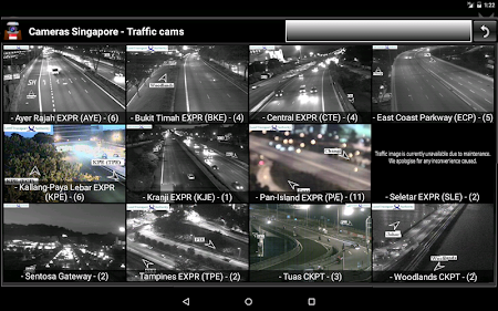 Cameras Singapore - Traffic 5.9.7 screenshot 1264666