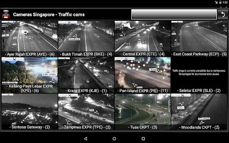 Cameras Singapore - Traffic 5.9.7 screenshot 1264666