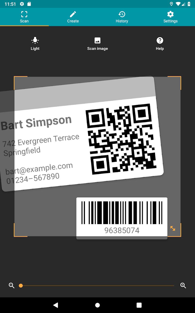QR & Barcode Reader (Pro) Screenshot 10