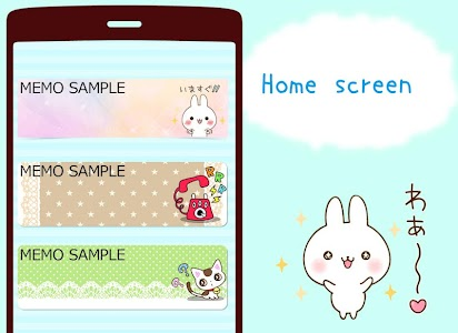Namaiki-rabbit Sticky Notes screenshot 0