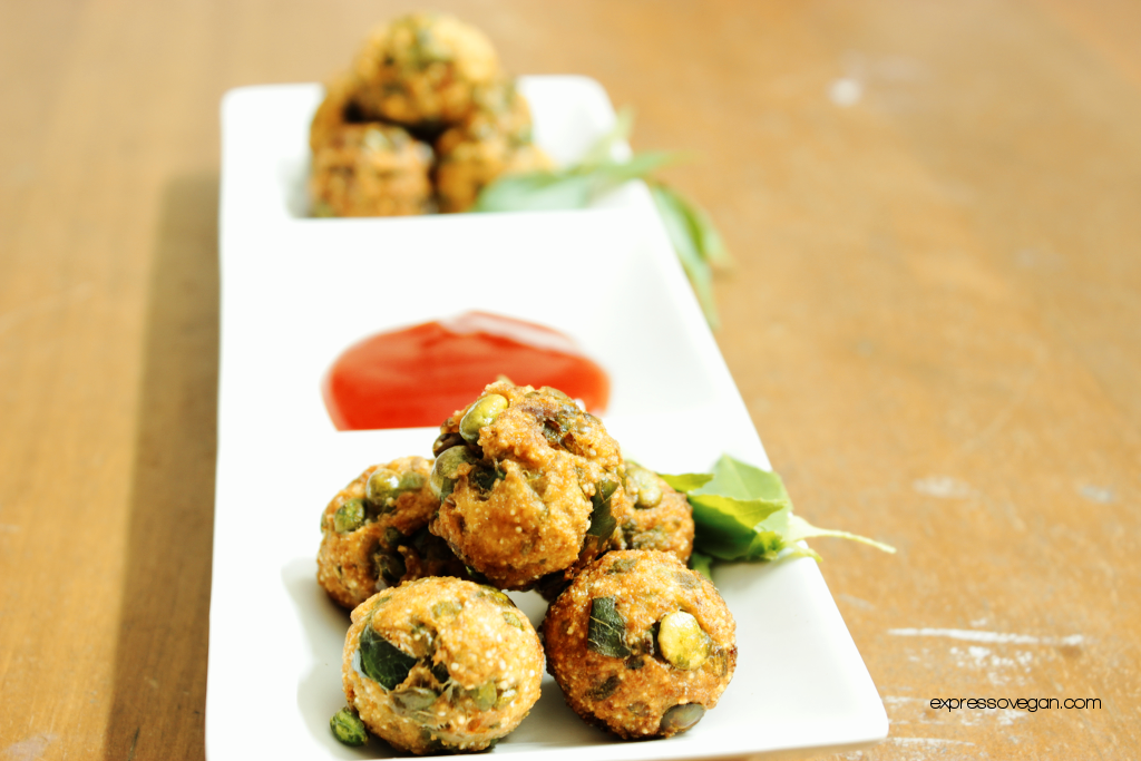 Green peas pakora recipe