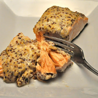 Baked Salmon with Horseradish