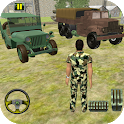 US Army Off-road Truck Driver 3D icon
