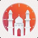 Prayer Times - Qibla, Auto Silent & Qaza Namaz icon
