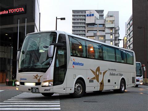 西鉄「はかた号」 0001 福岡天神にて_01