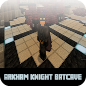 Map Arkham Knight Batcave MCPE