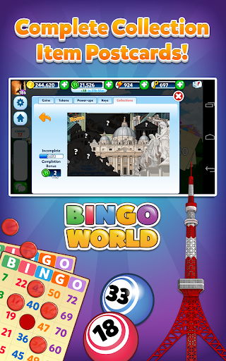 Bingo World - FREE Game screenshot