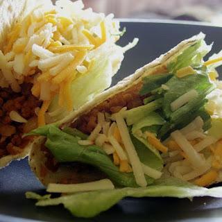 Ten Minute Vegan TVP Taco Recipe