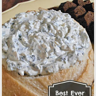 Best Spinach Dip Ever.