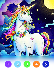 Coloring Fun : Color by Number Games 10