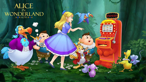 Slots - Alice In Wonderland