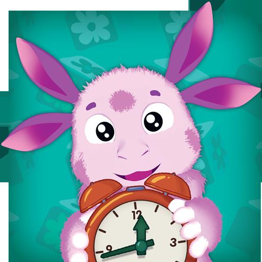 Лунтик: Учим время 教育 App LOGO-硬是要APP