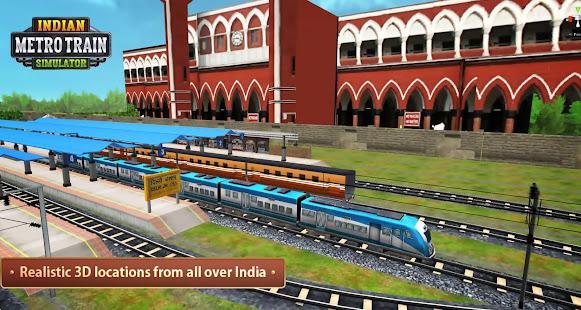 Indian Metro Train Simulator 11