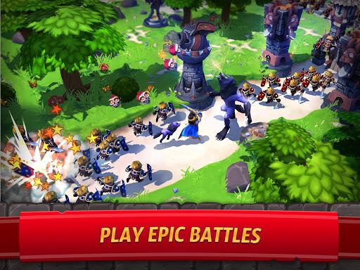 Royal Revolt 2: Tower Defense RTS & Castle Builder screenshots 9