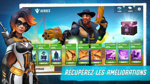 Code Triche Heroes of Warland - Action 3c3 JcJ en ligne APK MOD (Astuce) screenshots 2