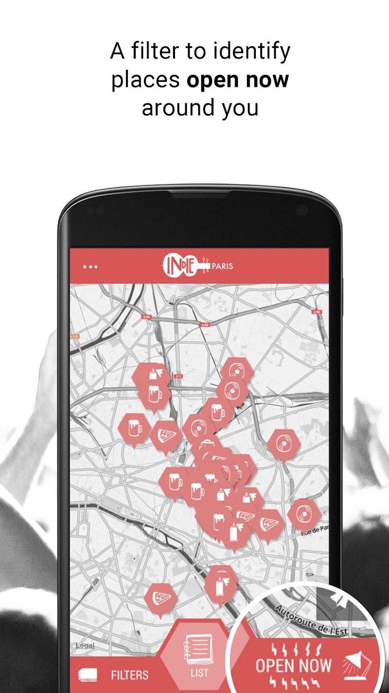 Скриншот Indie Guides Paris