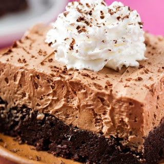 French Silk Pie Brownies.