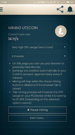 Smart Bitcoin Miner Wallet- Earn free money screenshot 7