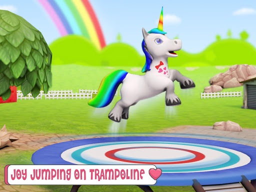 Baby Unicorn Horse Life : Pony Jungle Survival 1.0.5 screenshots 9