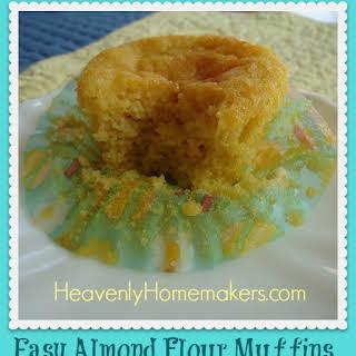 Simple Almond Flour Muffins.