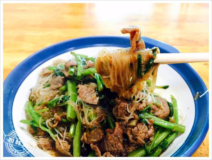 川味小炒-牛肉炒麵