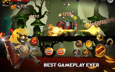 Stickman Legends: Shadow War – Ninja Warriors 10