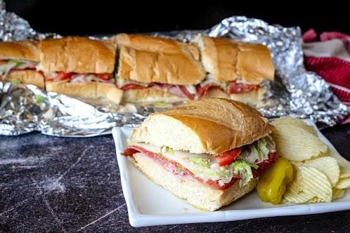 Hot Hero Sandwiches