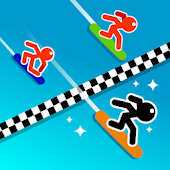 Stickman Snow Ride icon