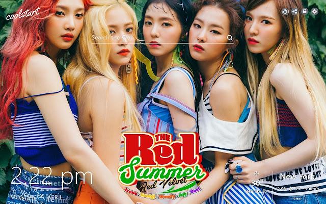 Red Velvet HD Wallpapers K-Pop Music Theme