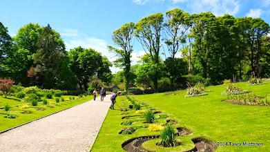 Photo: Luostarin puutarha. Näkymä puutarhan puistosta.