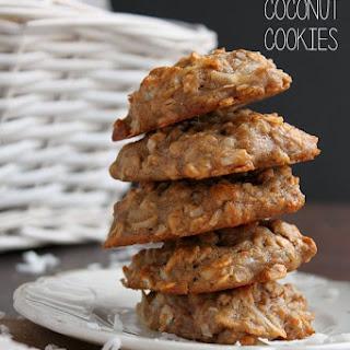 Healthy Coconut Cookies