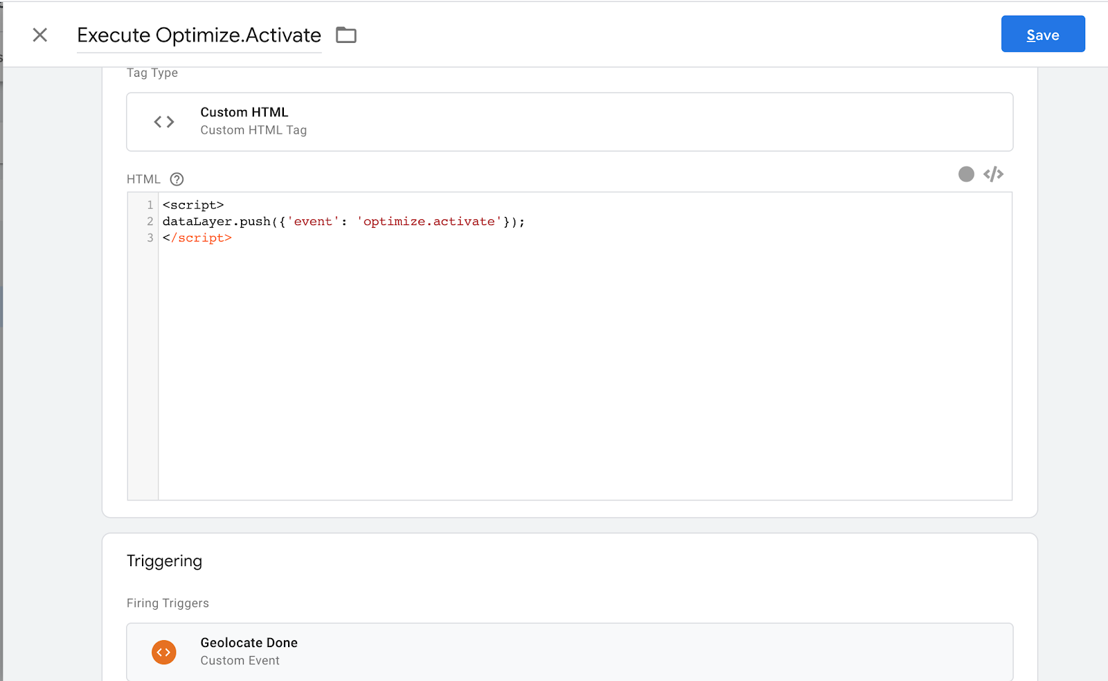custom html tag.