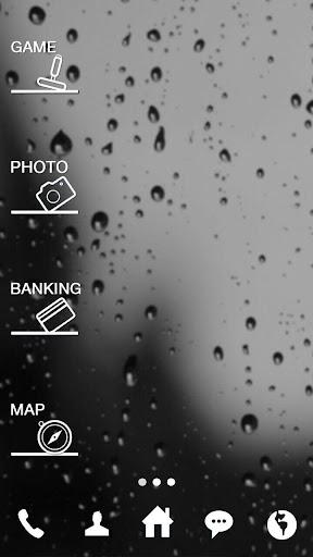 비가 오는 날엔 버즈런처 테마 홈팩