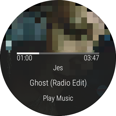 Music Boss for Android Wear - Control Your Music- screenshot