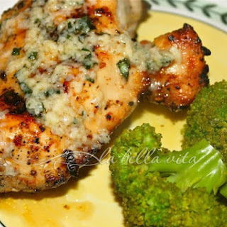 Grilled Basil Buttered Chicken