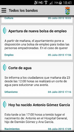 Guijo de Granadilla Informa