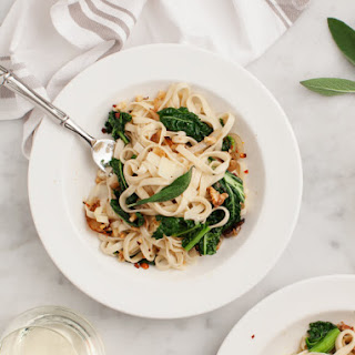 Linguine with Fennel & Winter Greens.