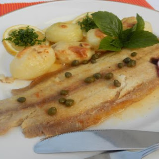 Baked Sole with Beurre Noisette (Brown Butter Sauce)