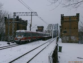 Photo: EN57-2066, Toruń Główny - Toruń Wschodni {Toruń Miasto; 2013-02-13}