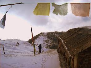 Photo: der Schnee liegt hier noch meterhoch