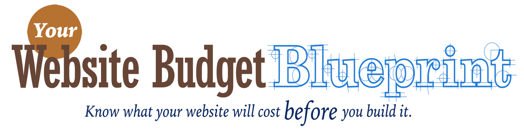 Your website budget blueprint online course laura christianson of blogging bistro presents malvernweather Image collections